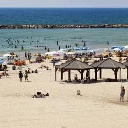 Beaches in Rishon Lezion